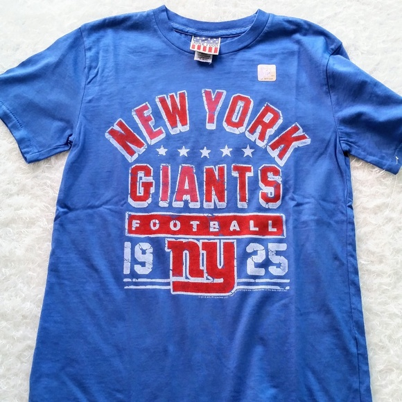 ed9d45a73 Kids New York Giants Football Graphic Tee Sm 6 7